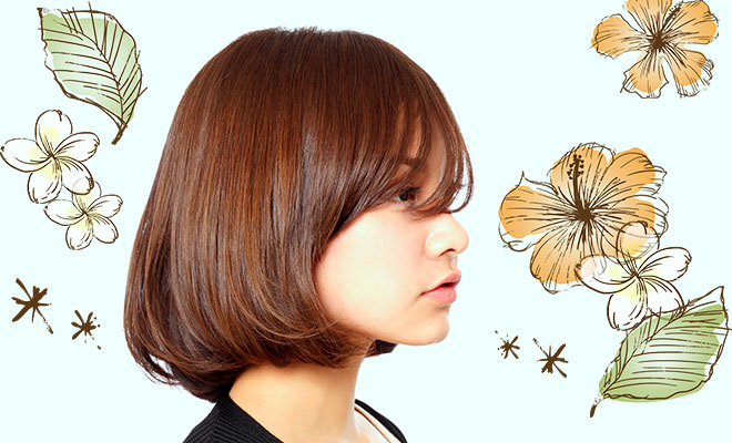 美容院 髪型